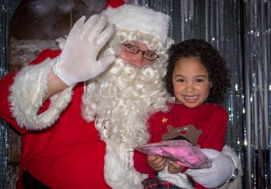 Recycling Lives transformed into a Winter Wonderland for annual Santa's Grotto