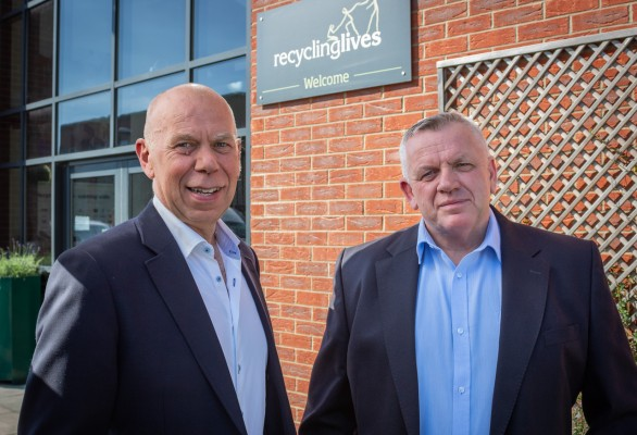 Recycling Lives announces new leadership team
