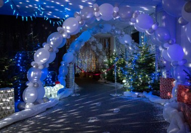Recycling Lives' free family Santa's Grotto for staff